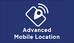 Advanced Mobile Location logo