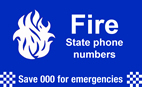 Fire state phone numbers